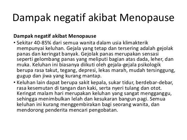 cara menunda menopause