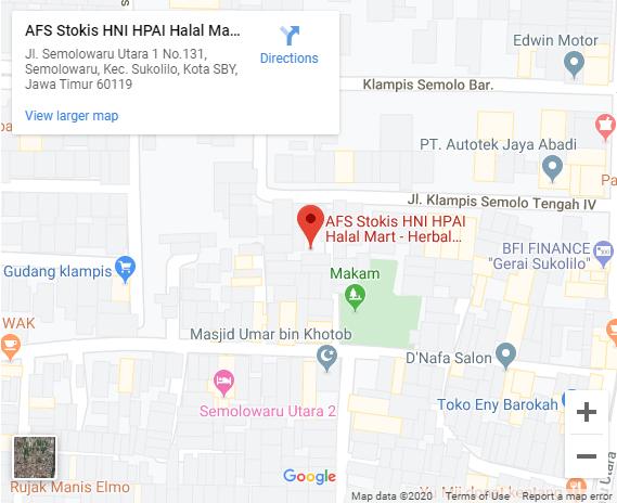 google maps hni surabaya